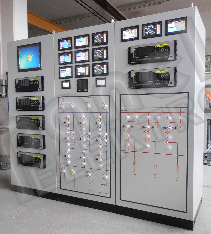 Yüksek Gerilim Kontrol & Scada Panosu - Mimik Elektrik
